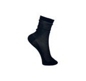 Black Colour 4194 PEARL KNITTED SOCK