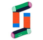 Happy Socks HAS01-7300 HALF STRIPE