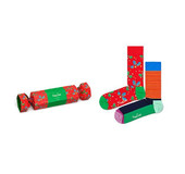 Happy Socks XHOL02-4300 CHRISTMAS CRACKER HOLLY