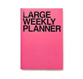 Jstory 5500 LARGE WEEKLY PLANNER