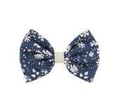 Mimi & Lula 302030-12 PEPPER PRINED BOW CLIPS