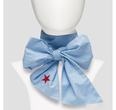 Pinned By K BOW BLUE STAR RED