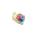 Pop Cutie CANDY CONFETTI RINGS